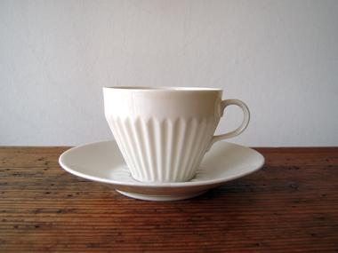 白い珈琲カップ
