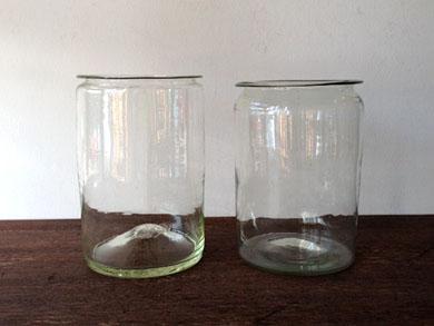 吹きガラス容器