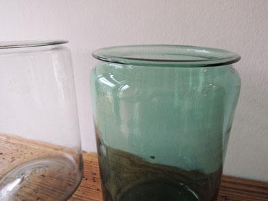 アンティークガラス瓶−4