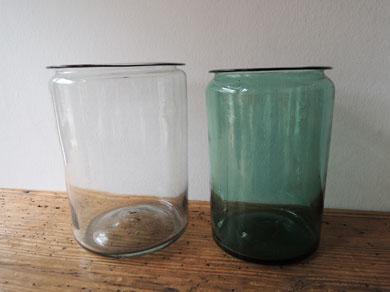 アンティークガラス瓶−6