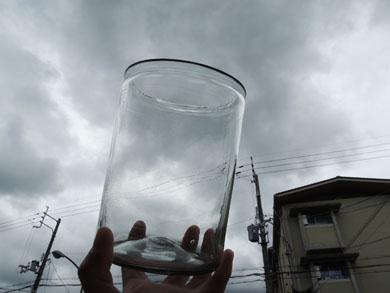 アンティークガラス瓶−7