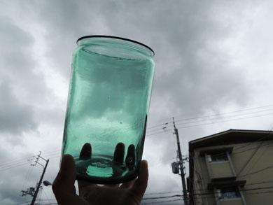 アンティークガラス瓶−8