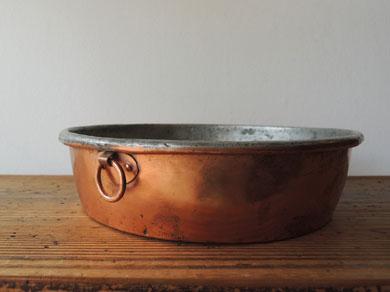 Copper bowl(L)-2