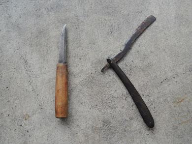 ナイフたち-2