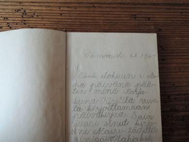 少女のノート-2