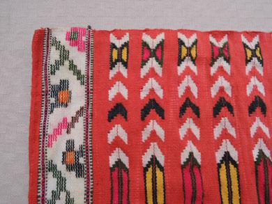 赤い織りもの-5