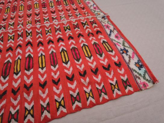織物(赤)-1