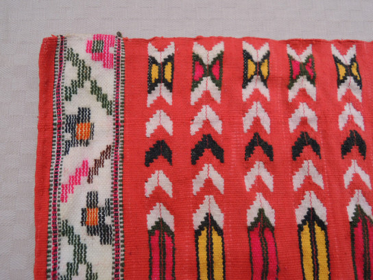 織物(赤)-3