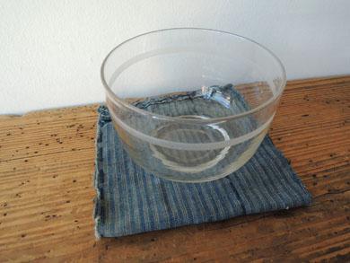 輪線文ガラス茶碗-2