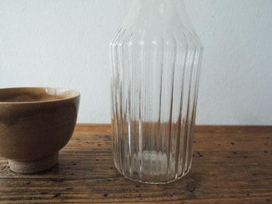 ガラス徳利と煎茶椀-3