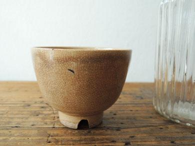 ガラス徳利と煎茶椀-5