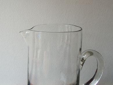 吹きガラスジャグ
