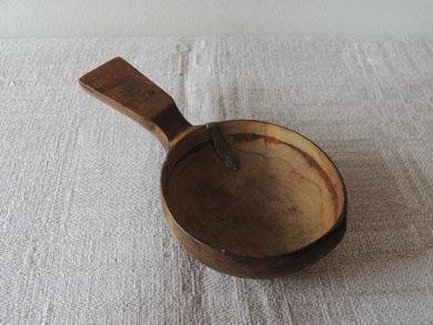 錫継ぎ木匙-3
