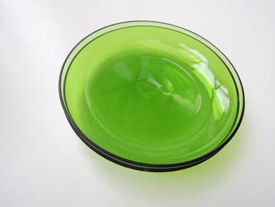 ガラスプレート緑-4