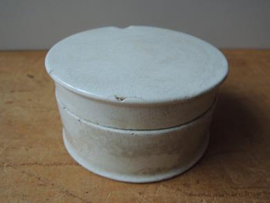 白磁クリームポット-3