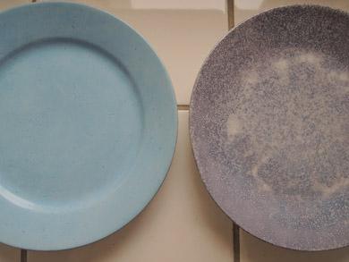 arabia水色ケーキ皿-1