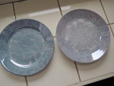 arabia水色ケーキ皿-2