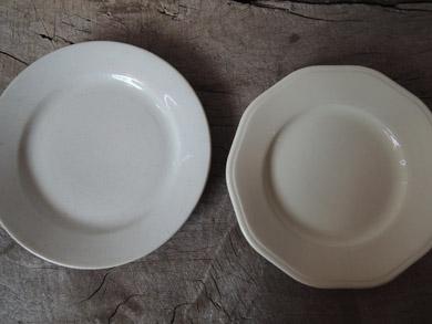 白磁パン皿-1