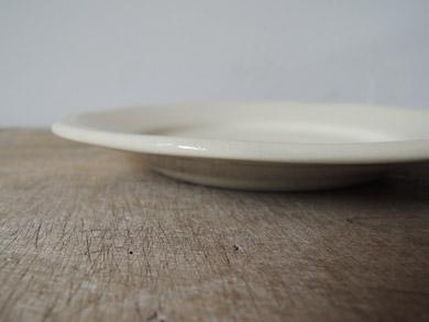 白磁パン皿-8