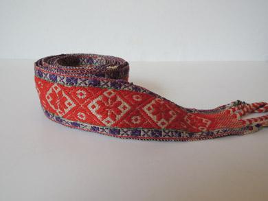 民族衣装の帯